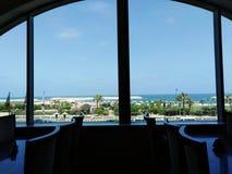 A manhã bonita do mar Mediterrâneo foto de stock royalty free
