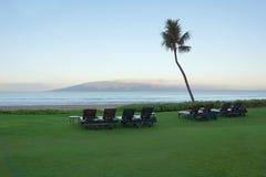 Manhã calma de Maui Fotos de Stock Royalty Free