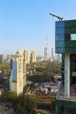 Manhã clara surpreendente em Bombaim Foto de Stock