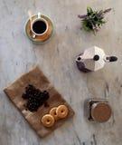 Manhã Coffe Imagem de Stock Royalty Free