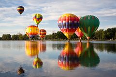 Manhã colorida Fotografia de Stock Royalty Free
