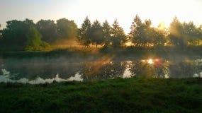 Manhã começo Foto de Stock