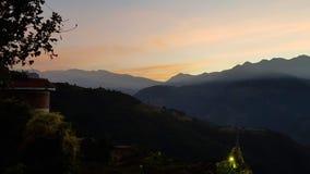 Manhã da exploração agrícola de Taiwan Qingxi fotografia de stock