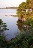 Manhã da lagoa de Trustom Foto de Stock