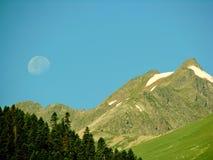 Manhã da lua Imagem de Stock