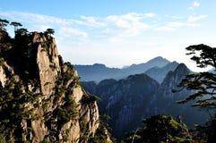 Manhã da montagem Huang Imagens de Stock Royalty Free