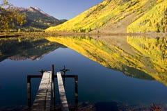 Manhã da montanha Imagens de Stock Royalty Free