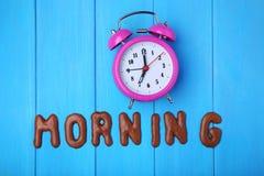 Manhã da palavra Fotografia de Stock Royalty Free