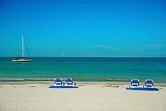 Manhã da praia de Florida Foto de Stock