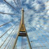 Manhã de Bhumibol 2 da ponte Fotografia de Stock Royalty Free