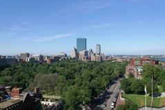 Manhã de Boston imagens de stock