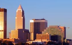 Manhã de Cleveland Fotos de Stock