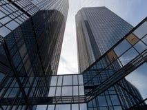 Manhã de Frankfurtâs Fotografia de Stock Royalty Free