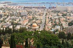 Manhã de Haifa Fotos de Stock Royalty Free