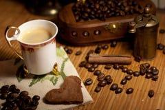 Manhã do café Imagem de Stock Royalty Free