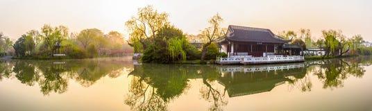 Manhã do canal de Yangzhou Fotografia de Stock