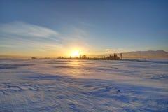 Manhã do inverno Imagens de Stock