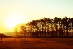 Manhã do lago west Point Fotografia de Stock Royalty Free