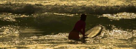 Manhã do ` s do surfista Imagem de Stock