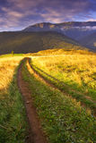 Manhã do verão em Tatras elevado (Vysoké Tatry) Fotografia de Stock