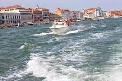 Manhã do verão em Veneza fotografia de stock royalty free