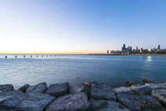 Manhã em Chicago Fotografia de Stock Royalty Free
