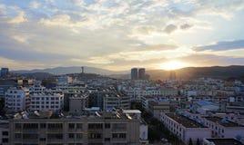 Manhã em Dali Imagem de Stock