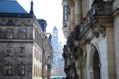Manhã em Dresden Fotografia de Stock Royalty Free