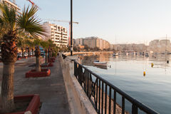 Manhã em Malta Fotografia de Stock