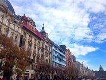 Manhã em Praga Imagem de Stock Royalty Free