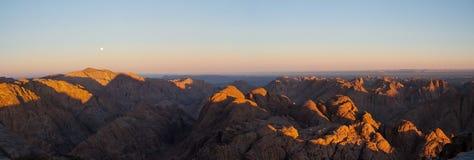 Manhã em Sinai fotos de stock