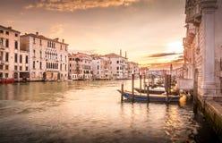 Manhã em Veneza Fotografia de Stock Royalty Free