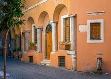 Manhã ensolarada em Roman Ghetto fotos de stock royalty free