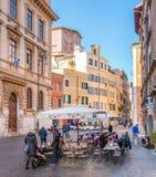 Manhã ensolarada em Roman Ghetto foto de stock royalty free