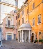 Manhã ensolarada em Roman Ghetto fotos de stock