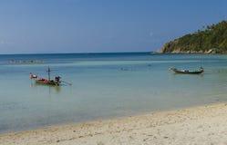 Manhã ensolarada sobre o Golfo da Tailândia Foto de Stock