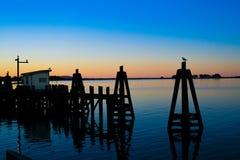 Manhã na baía Imagens de Stock