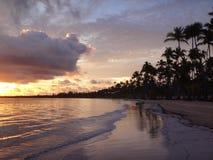 Manhã na praia fotografia de stock royalty free