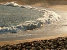 Manhã na praia Fotos de Stock Royalty Free