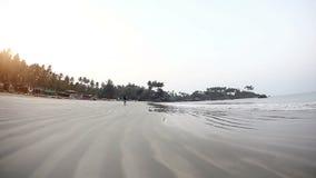 Manhã na praia de Palolem filme