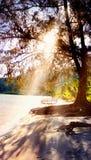 Manhã na praia do kohrong Imagens de Stock Royalty Free