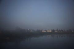Manhã nevoenta Fotografia de Stock