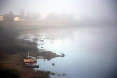 Manhã nevoenta Imagens de Stock