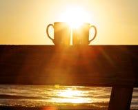 Manhã no Atlântico Foto de Stock Royalty Free