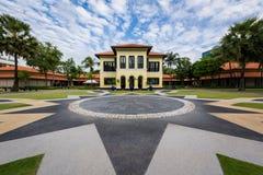 Manhã no centro malaio da herança Imagens de Stock Royalty Free