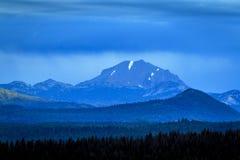 Manhã nublado de Lassen da montagem Imagens de Stock Royalty Free