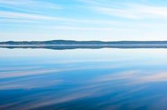 Manhã o Lago Onega Imagens de Stock