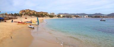 Manhã obscura na praia de Medano imagens de stock royalty free