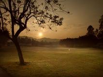 Manhã que sunrising Fotografia de Stock Royalty Free