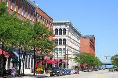 Manhã quieta de Cleveland Imagem de Stock Royalty Free